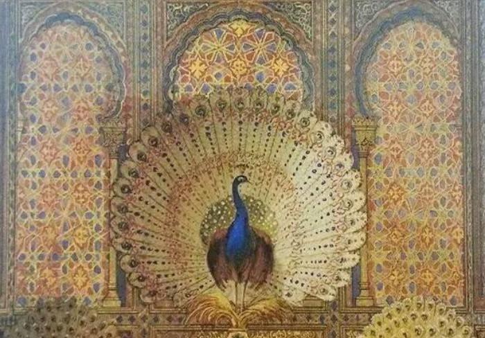 Павлин — священная птица для езидов