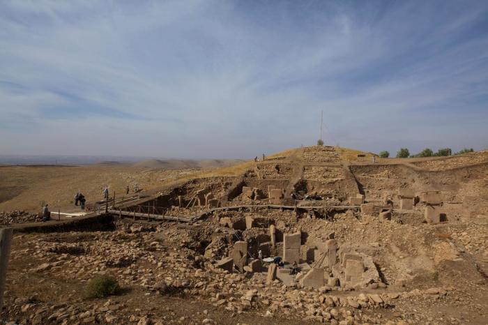 Гигантский храмовый комплекс зачем-то засыпали землей. /Фото:blogspot.com